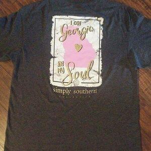 b0035656a3cf Simply Southern short sleeve shirt XL ...